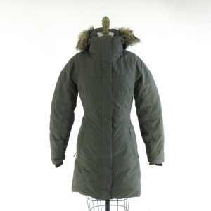 The North Face Green Arctic 550 Down Parka